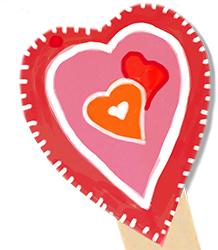 Terminer le coeur du marque-page