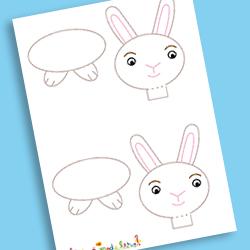 Description : Modèle lapin