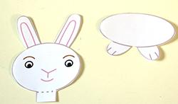 Description : Découper le lapin