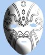 Reproduire le masque chinois