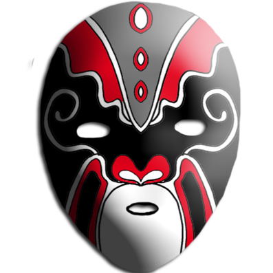 vente la moins chère profiter du meilleur prix prix abordable Peindre un masque chinois sur Tête à modeler