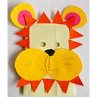Masque de lion pour le déguisement des enfants