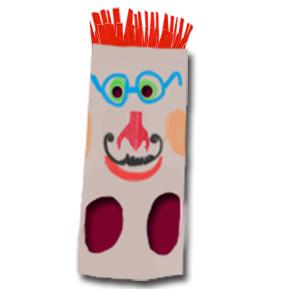 Masque Tête de carnaval