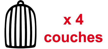 Passer 4 couches