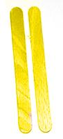 Peindre 2 bâtonnets dans une autre couleur