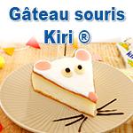 Le gâteau souris au fromage Kiri ®