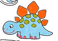 Colorier tous les dinosaures