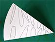 Dessiner des formes sur les pliures