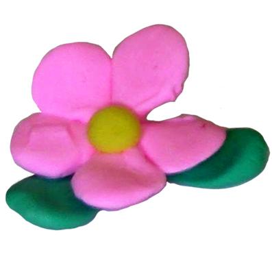 Modelage d'une fleur