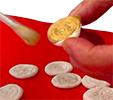 Peindre les pièces de monnaies anciennes