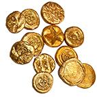 Pièces de monnaie anciennes