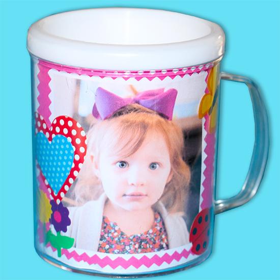 Mug photo et gommettes à offrir à maman pour la fête des mères
