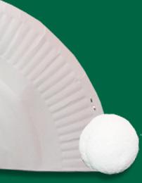 Coller un pompon pour la queue