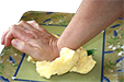 Ecraser la pâte