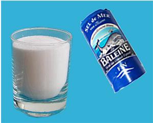 1 verre de sel