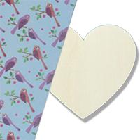 Recouvrir le coeur de magic paper