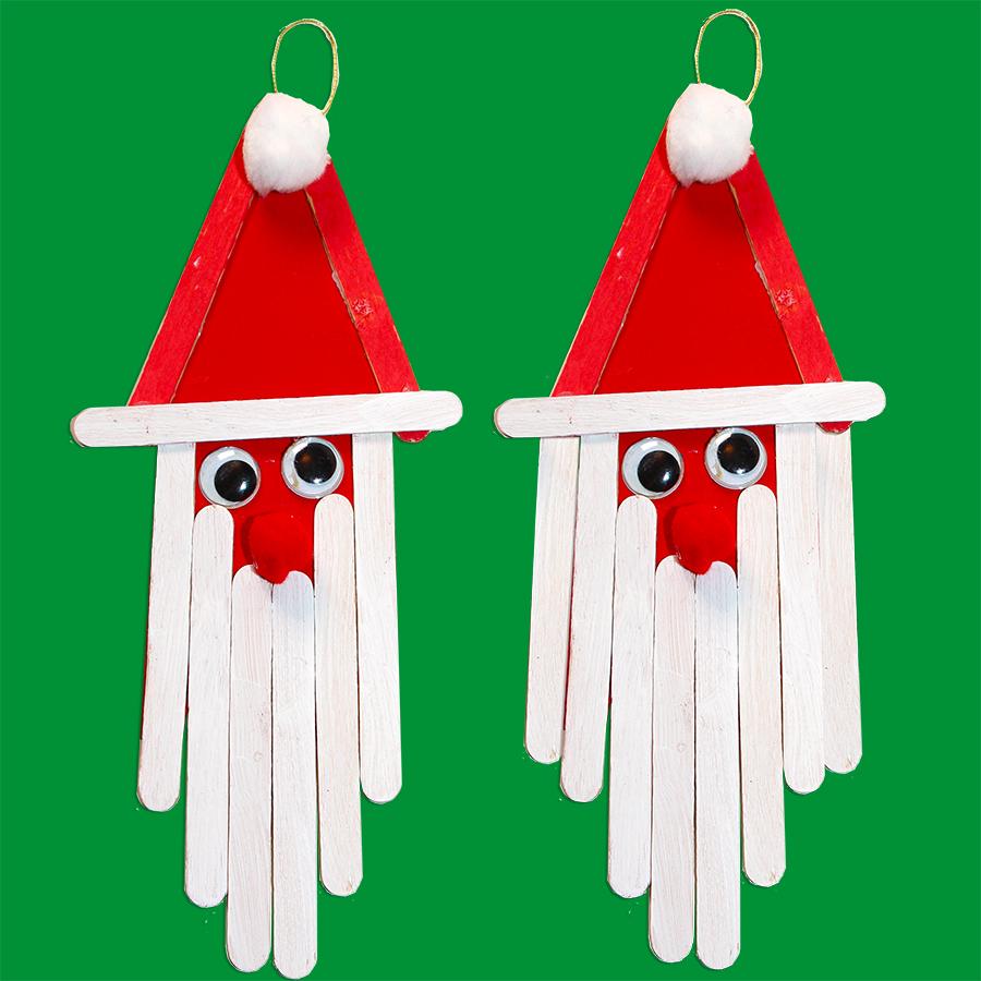 Père Noël bâtons esquimaux
