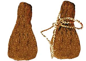 Former un sac de Père Noël en flocons de maïs