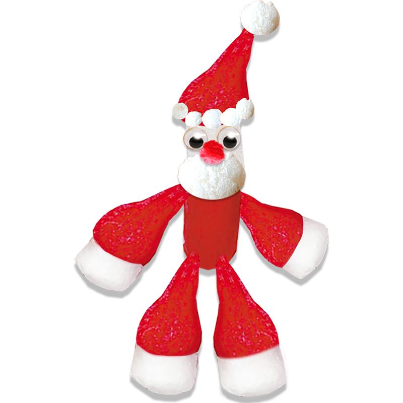 Petit Père Noël en flocons de Maïs