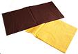 2 serviettes de couleur