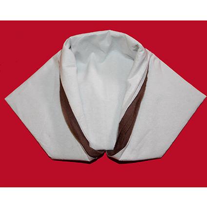 Pliage d'une serviette en Kimono