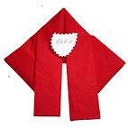Pliage de serviette en Père Noël pour Noël