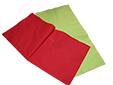 Deux serviettes de couleur