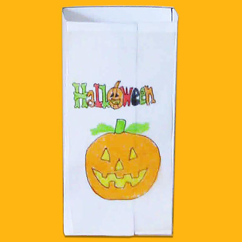 Sachet de bonbons d'Halloween