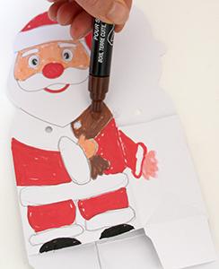 Colorier le Père Noël