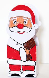 Plier la pochette Père Noël