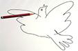 Dessiner la colombe comme Picasso