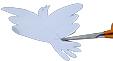 Découper la colombe