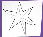 Dessiner 24 ou 25 étoiles