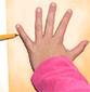 dessiner la forme de la main