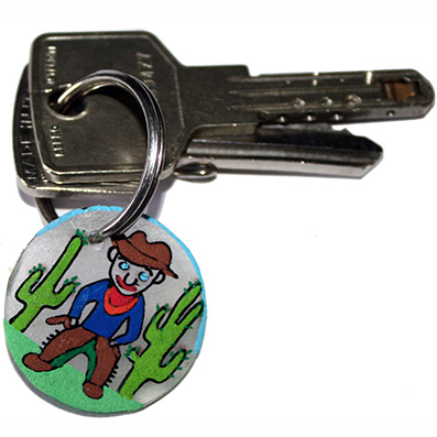 Porte-clés de garçon
