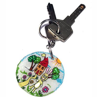 Porte-clés pour fille