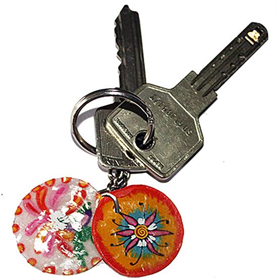 Bricolage porte clés pour maman