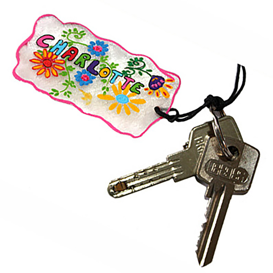 Porte-clés plastique magique pour la fête des mères