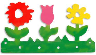 Peindre les 3 fleurs