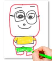 Dessiner le personnage sur une feuille avant de commencer