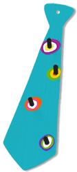 Motif peint sur le porte-cravate