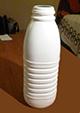 Nettoyer la bouteille de lait