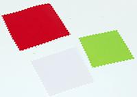 Découper des rectangles de carte de couleur
