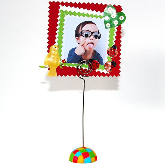 porte-photo garçon à offrir à la fête des mères - cadeau fête des