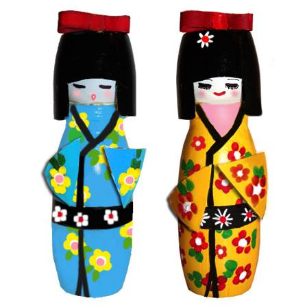 Poupée Kokeshi, poupée japonnaise