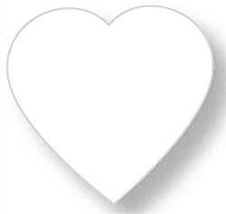 Presse papier en verre d cor d 39 un beau dessin bricolage t te modeler - Faire un coeur en papier ...