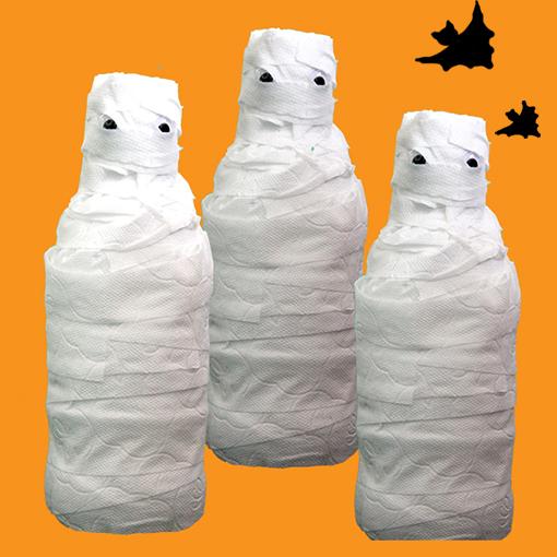 Quilles momie d'Halloween