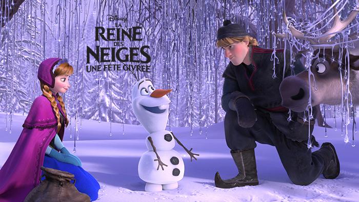 Anna et Kristoff - la reine des neiges