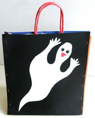 Sac halloween fantôme