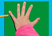Poser la main